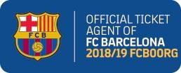 Logo Official Ticket Agent Camp Nou