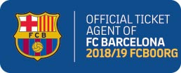 Logo Official Ticket Agent Camp Nou
